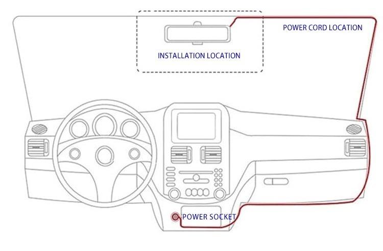 【激安特価】 運転対策 ダッシュカメラ HD 1080P 車運転 レコーダー 車両カメラ ドライブレコーダー ドライブカメラ カメラ_画像10