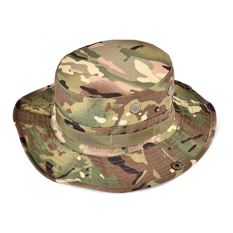 【最終値引き】米軍の戦術的BOONIE帽子軍人綿迷彩キャップペイントボールエアガン狙撃バケットキャップハント釣り屋外狩猟帽子_画像10