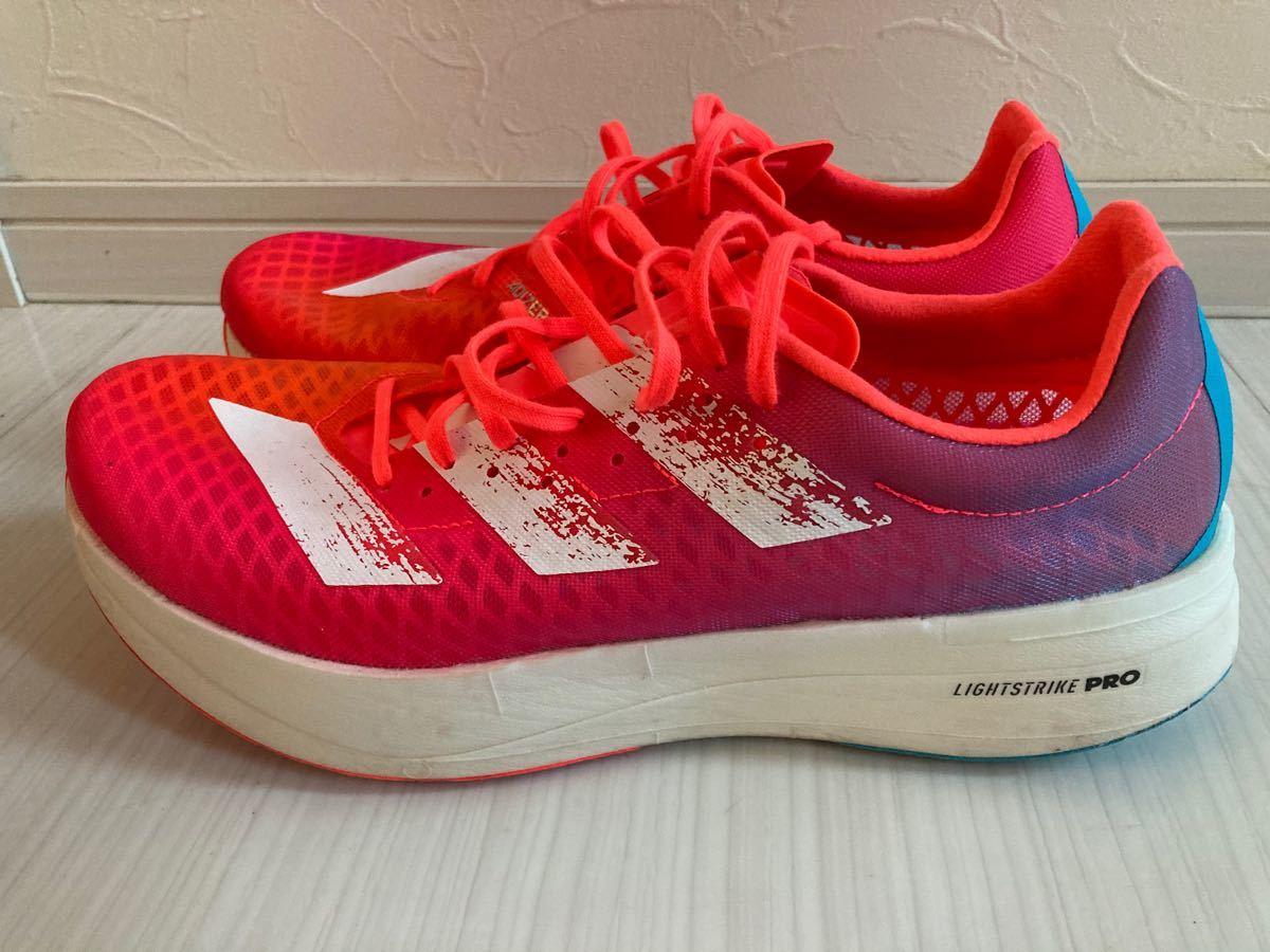 アディダス  アディゼロ アディオス プロ メンズ27cm adidas