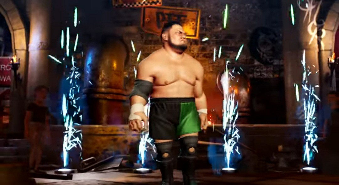 PS4 WWE 2K BATTLE GROUNDS 北米版