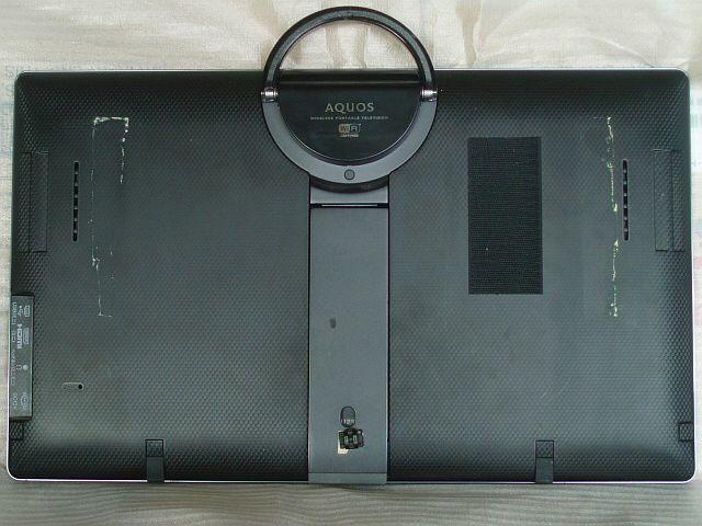 20F5 【高画質!録画!送料安!消費税無!】 20V型 地上/BS/CSデジタル液晶テレビ SHARP フリースタイルAQUOS LC-20F5 【訳有品】_出品は本体のみになります。
