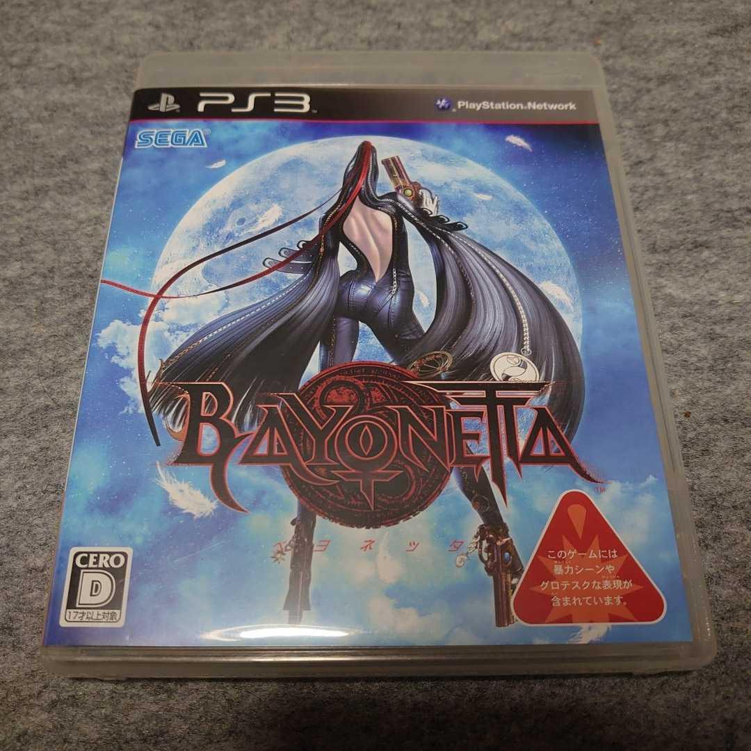 PS3ソフト ベヨネッタ BAYONETTA セガ