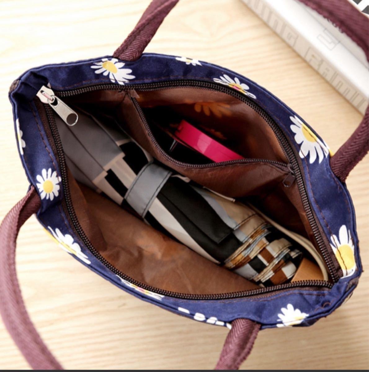 トートバッグ ミニトートバッグ 手提げ ランチバッグ お弁当袋 バッグインバッグ
