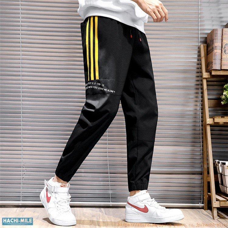 テーパードパンツ メンズ スウェット 配色パンツ ライン柄 テーパードパンツ メンズ スウェット 配色パンツ ライン柄 おしゃれ スポーツ