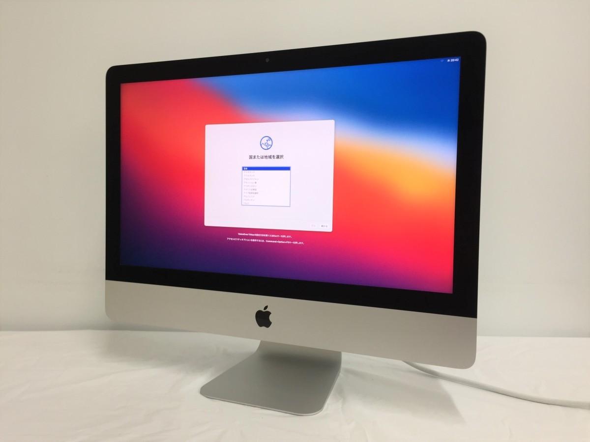 送料無料 Apple iMac/Retina4K21.5-inch2017/A1418/Corei5 CPU 7400/3.0GHz /HDD1TB/8GB/21.5インチ/mac OS BigSur/中古アップル_画像1