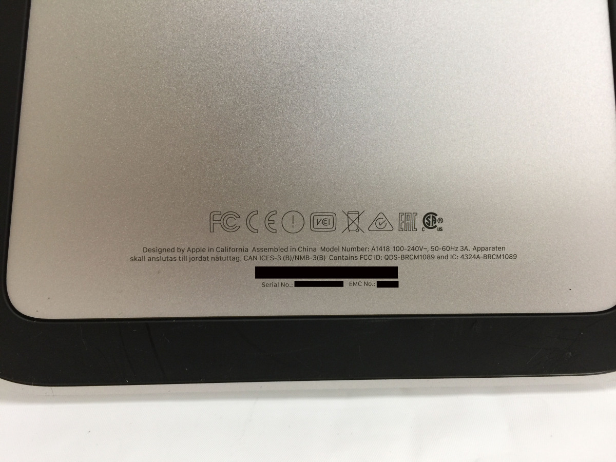 送料無料 Apple iMac/Retina4K21.5-inch2017/A1418/Corei5 CPU 7400/3.0GHz /HDD1TB/8GB/21.5インチ/mac OS BigSur/中古アップル_画像4