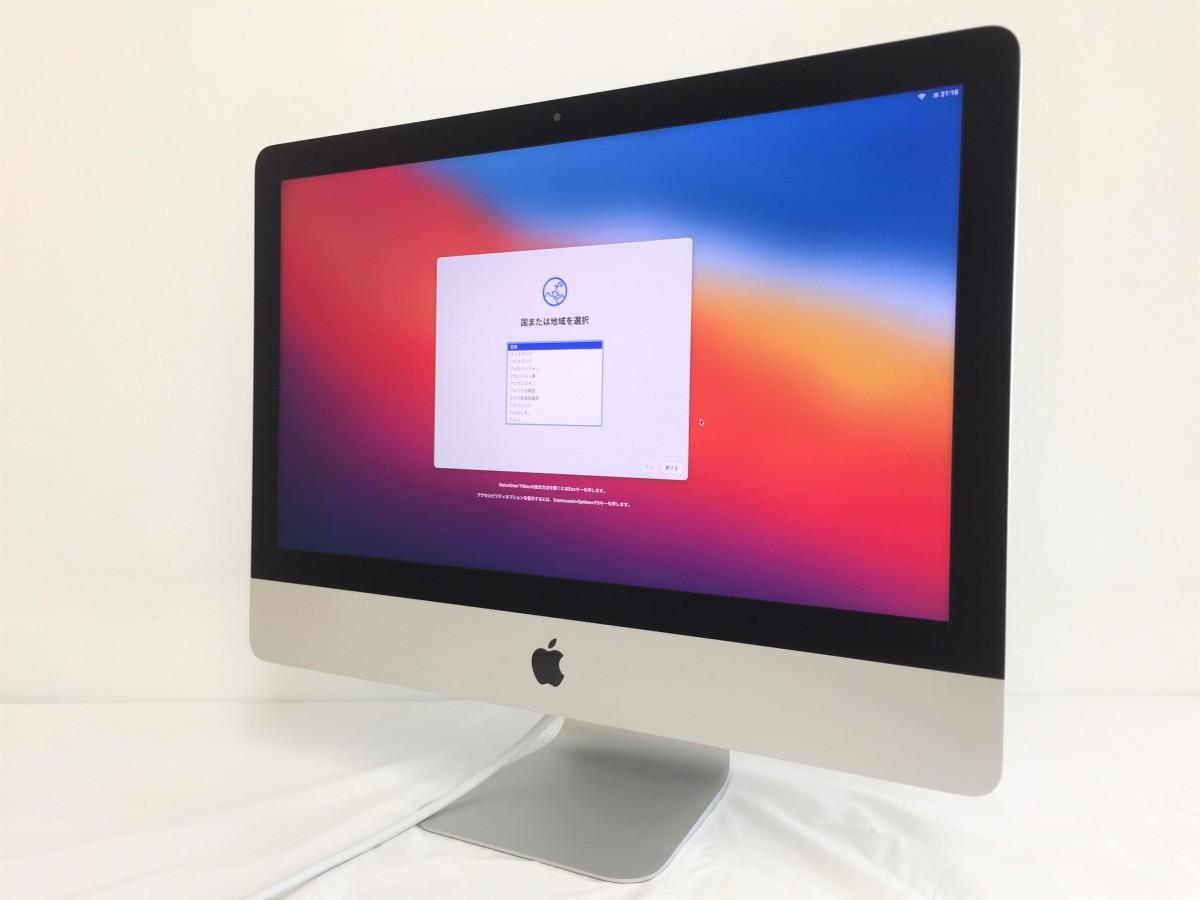 送料無料 Apple iMac/Retina4K21.5-inch2019/A2116/Corei3 CPU 8100/3.60GHz /HDD1TB/8GB/21.5インチ/mac OS BigSur/中古アップル_画像1
