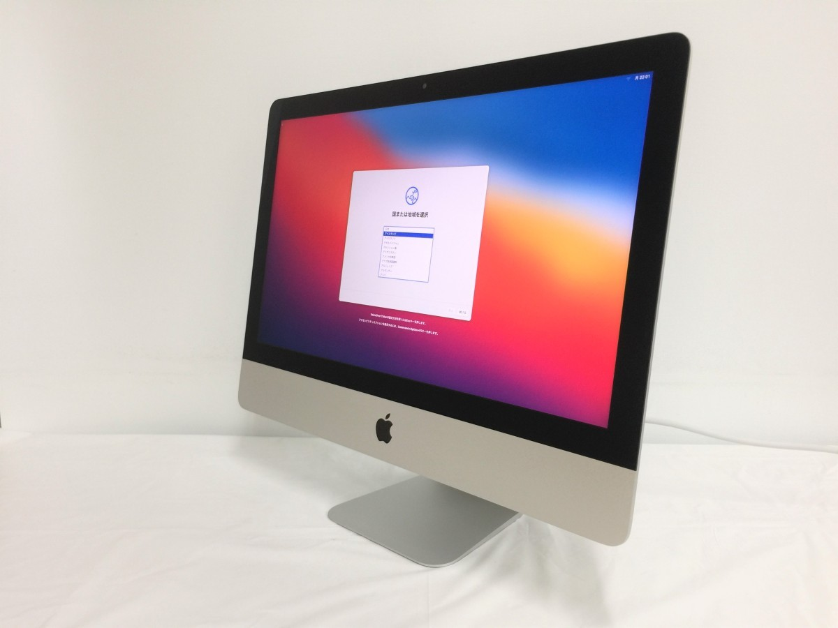 送料無料 Apple iMac/Retina4K21.5-inch2017/A1418/Corei5 CPU 7400/3.0GHz /HDD1TB/16GB/21.5インチ/mac OS BigSur/中古アップル_画像1
