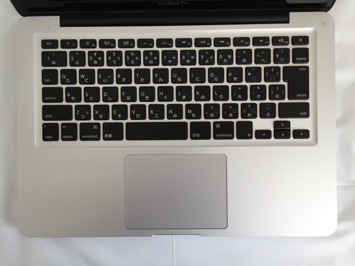 送料無料 Apple MacBook Pro/13-inch Mid 2012/A1278/Core i5 CPU 3210M 2.5GHz HDD500GB 4GB 13.3インチ macOS Catalina 中古アップル_画像3