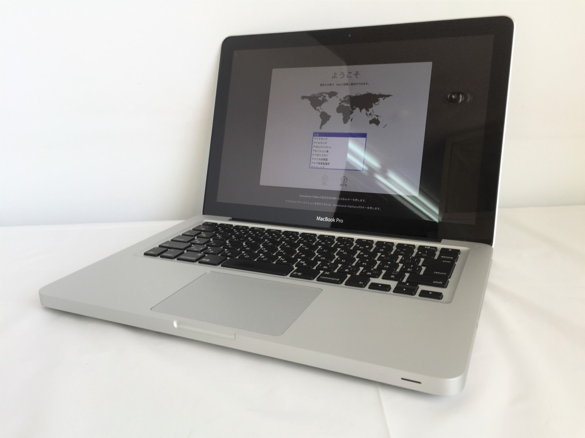 送料無料 Apple MacBook Pro/13-inch Mid 2012/A1278/Core i5 CPU 3210M 2.5GHz HDD500GB 4GB 13.3インチ macOS Catalina 中古アップル_画像1