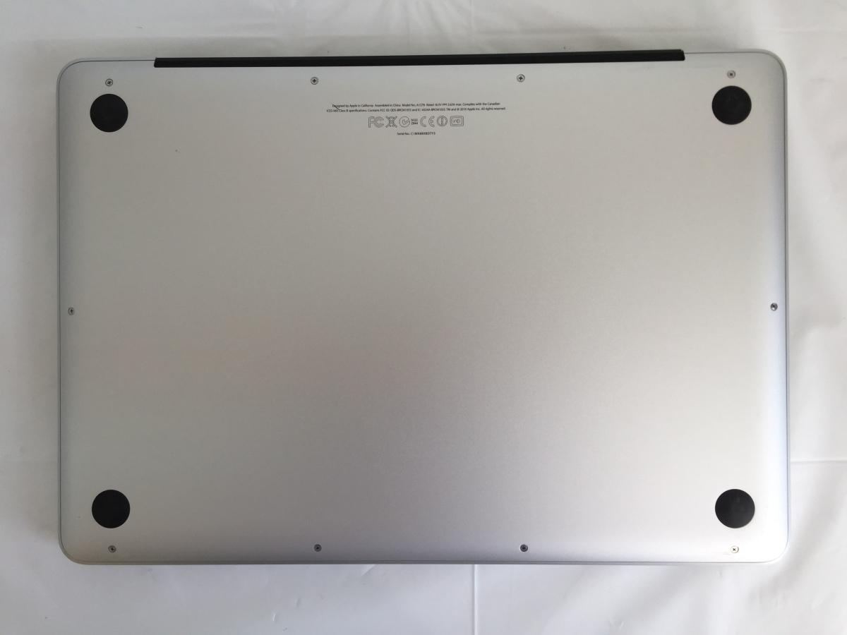 送料無料 Apple MacBook Pro/13-inch Mid 2012/A1278/Core i5 CPU 3210M 2.5GHz HDD500GB 4GB 13.3インチ macOS Catalina 中古アップル_画像6