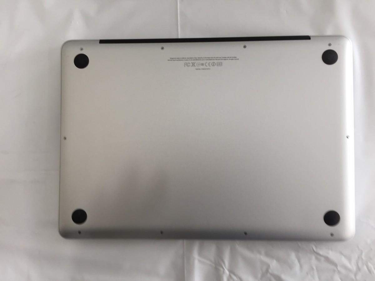 送料無料 Apple MacBook Pro/13-inch Mid 2012/A1278/Core i5 CPU 3210M 2.5GHz HDD500GB 4GB 13.3インチ macOS Catalina 中古_画像6