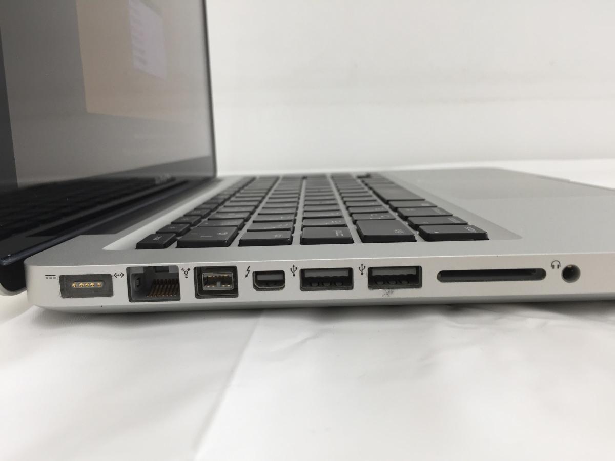送料無料 Apple MacBook Pro/13-inch Mid 2012/A1278/Core i5 CPU 3210M 2.5GHz HDD500GB 4GB 13.3インチ macOS Catalina 中古_画像3