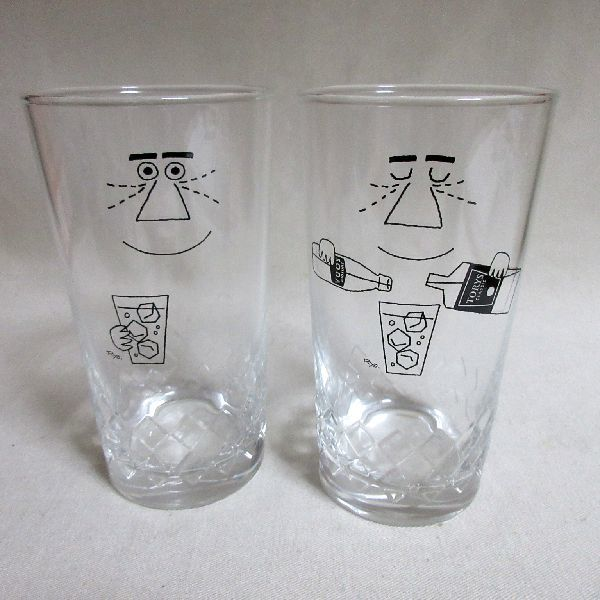 未使用 サントリー トリス オリジナルグラス 2個セット ウィスキー ハイボール グラス 日本製 非売品 _画像2