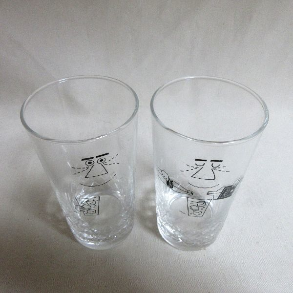 未使用 サントリー トリス オリジナルグラス 2個セット ウィスキー ハイボール グラス 日本製 非売品 _画像3