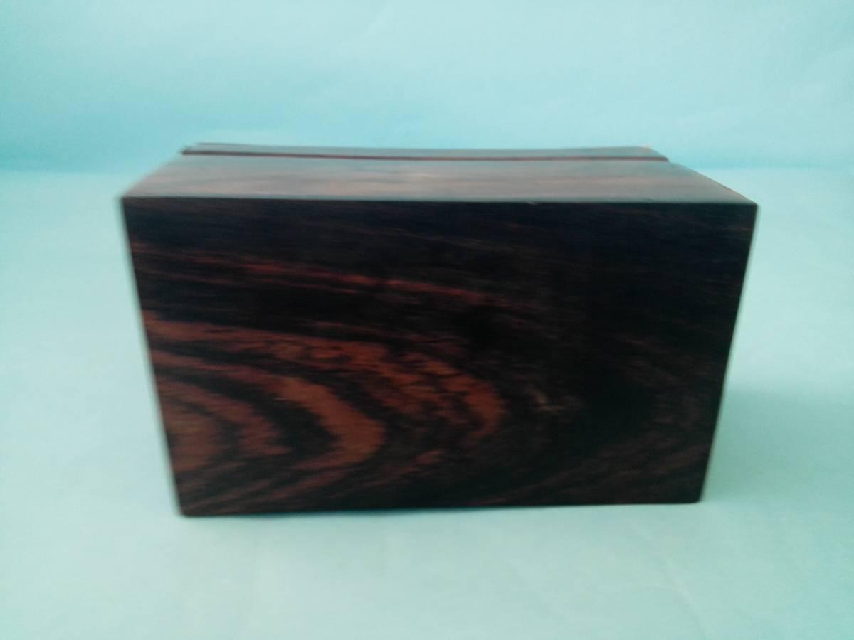 象嵌 木製 金属 小物入れ  アクセサリー入れ  置き物  像模様_画像7