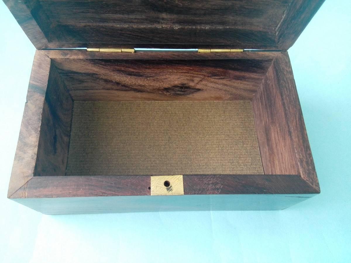 象嵌 木製 金属 小物入れ  アクセサリー入れ  置き物  像模様_画像9