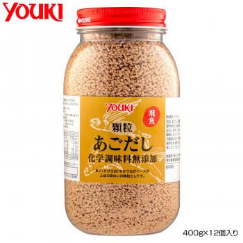 YOUKI ユウキ食品 顆粒あごだし化学調味料無添加 400g×12個入り 210350(a-1661160)_画像1