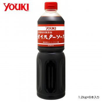 YOUKI ユウキ食品 化学調味料無添加オイスターソース 1.2kg×6本入り 212037(a-1661125)_画像1