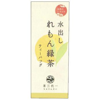 水出し れもん緑茶 ティーバッグ(5g×5個入)×6セット(a-1568248)_画像1