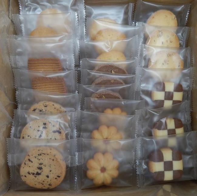 お買い得!個包装クッキー(8種×12枚)合計96枚(a-3755am)_画像1