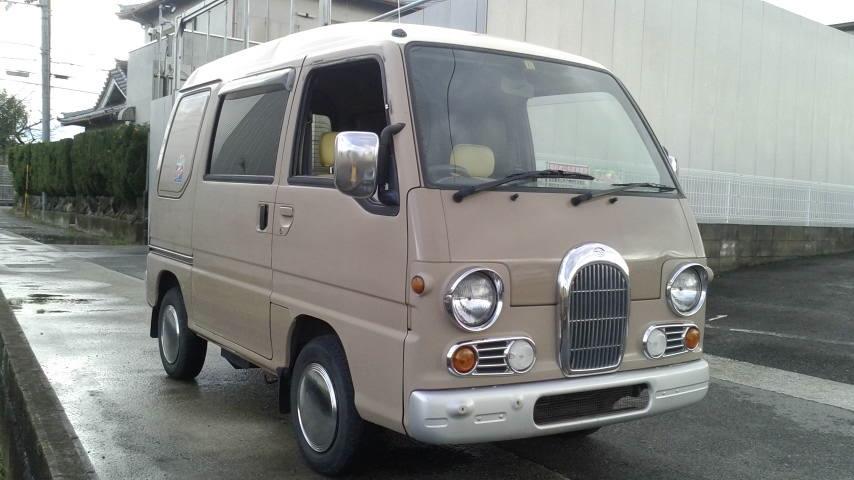 「旧車、レトロ 平成7年式 サンバークラシック 切り替え4WD!5速MTリアヒーター付き!」の画像1