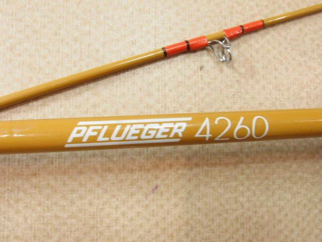 フルーガー PFLUEGER 4260 2ピース ベイトロッド オールドロッド (276-645_画像6