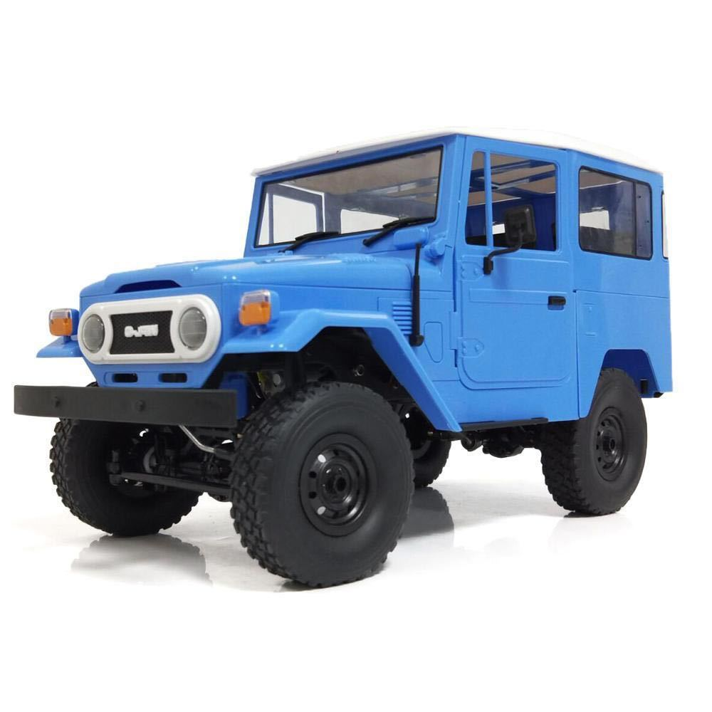 ★国内即納★青 ブルー WPL C34 ラジコンカー RC 1/16 2.4G 4WD RTR即走行セット トラック クローラー オフロード D12後継スケールロック_画像6