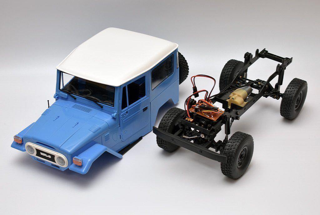 ★国内即納★青 ブルー WPL C34 ラジコンカー RC 1/16 2.4G 4WD RTR即走行セット トラック クローラー オフロード D12後継スケールロック_画像7