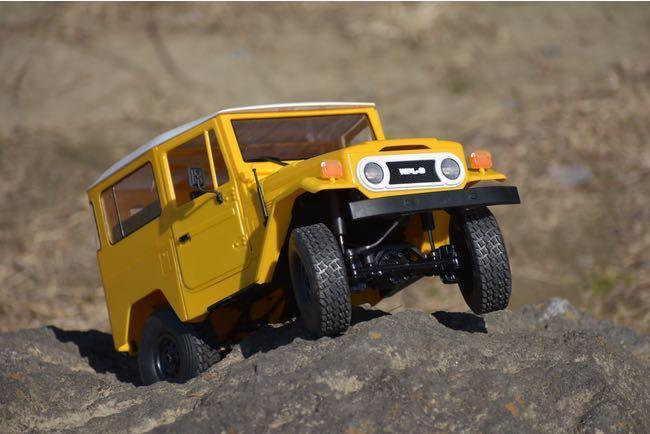 ★国内即納★黄 イエロー WPL C34 ラジコンカー RC 1/16 2.4G 4WD RTR即走行セット トラック クローラー オフロード D12後継スケールロック_画像6