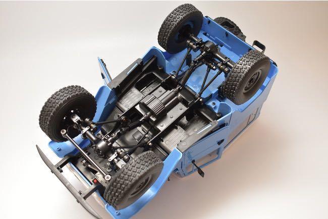 ★国内即納★青 ブルー WPL C34 ラジコンカー RC 1/16 2.4G 4WD RTR即走行セット トラック クローラー オフロード D12後継スケールロック_画像9