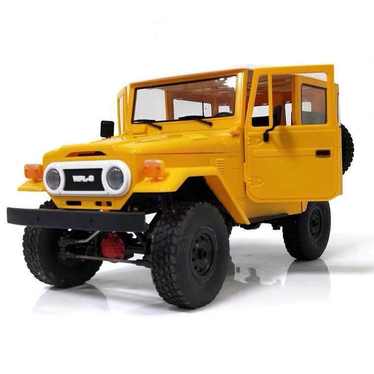 ★国内即納★黄 イエロー WPL C34 ラジコンカー RC 1/16 2.4G 4WD RTR即走行セット トラック クローラー オフロード D12後継スケールロック_画像9