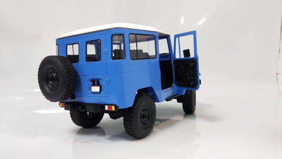 ★国内即納★青 ブルー WPL C34 ラジコンカー RC 1/16 2.4G 4WD RTR即走行セット トラック クローラー オフロード D12後継スケールロック_画像3