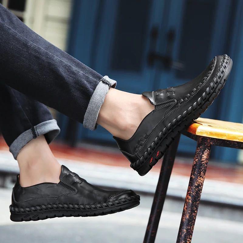 ローファー 新品 スリッポン ローカット カジュアル 紳士靴 ドライビングシューズ 快適 軽量 メンズ/b_画像4
