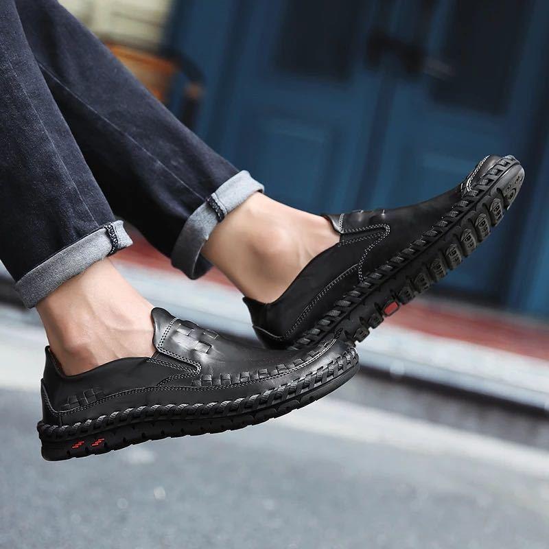 ローファー 新品 スリッポン ローカット カジュアル 紳士靴 ドライビングシューズ 快適 軽量 メンズ/b_画像6