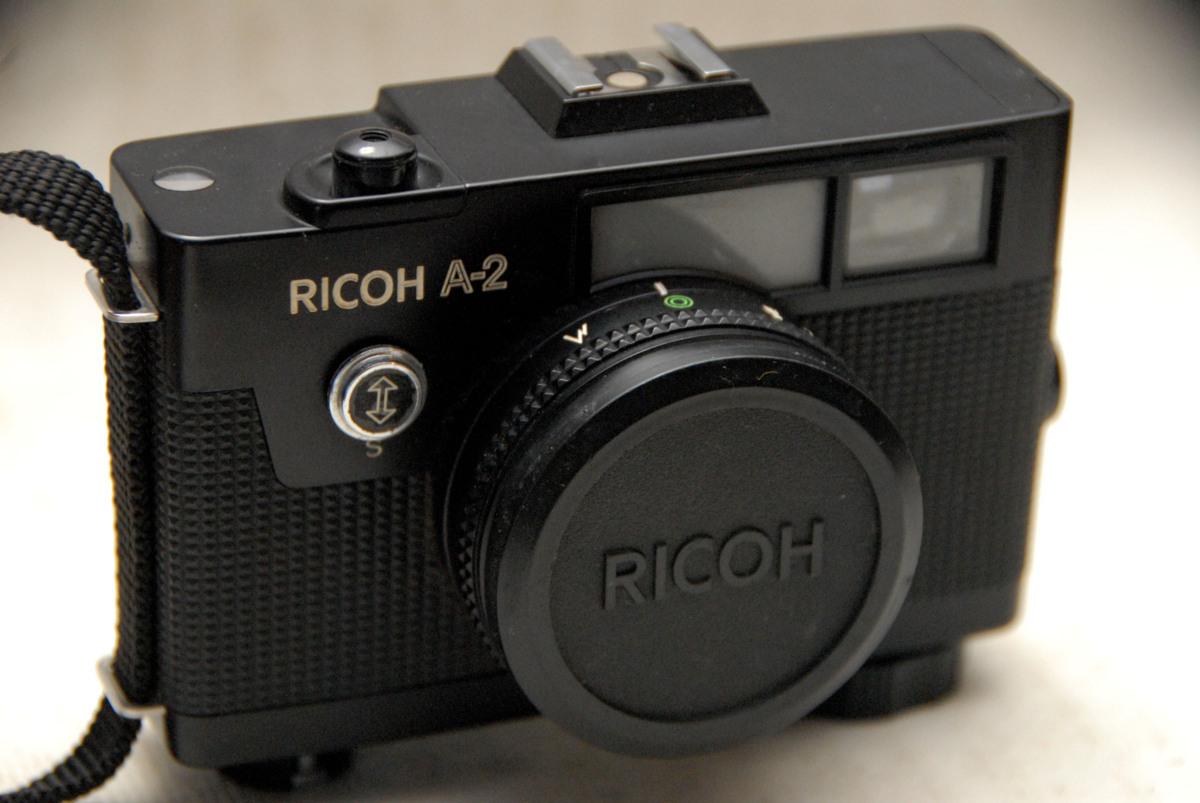 RICOH リコー製 昔のレンジファインダーカメラ RICOH A-2 超希少・作動品