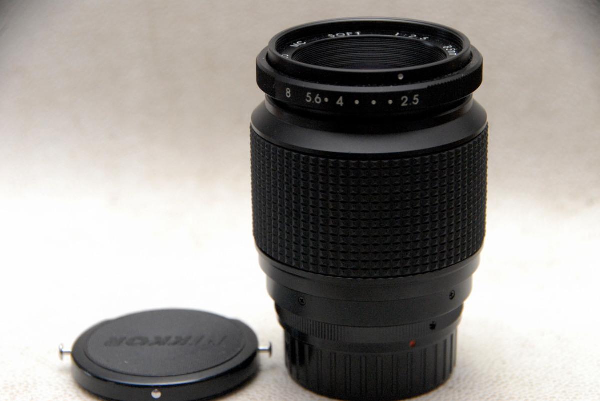 Nikon ニコン Fマウント専用 Kenko製 85mm 単焦点高級望遠レンズ 1:2.5 超希少・良好品