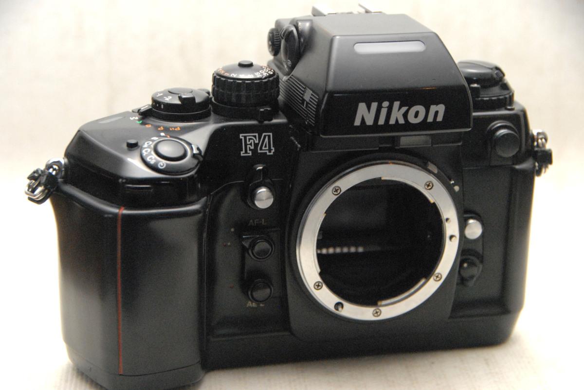 Nikon ニコン 最高峰 人気のAF高級一眼レフカメラ F4 ボディ 希少な作動品 (腐食無し)