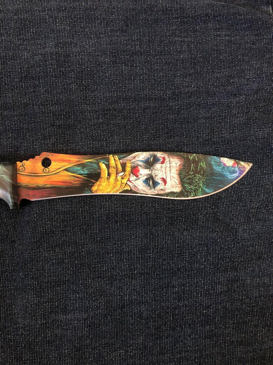 フルタングナイフ