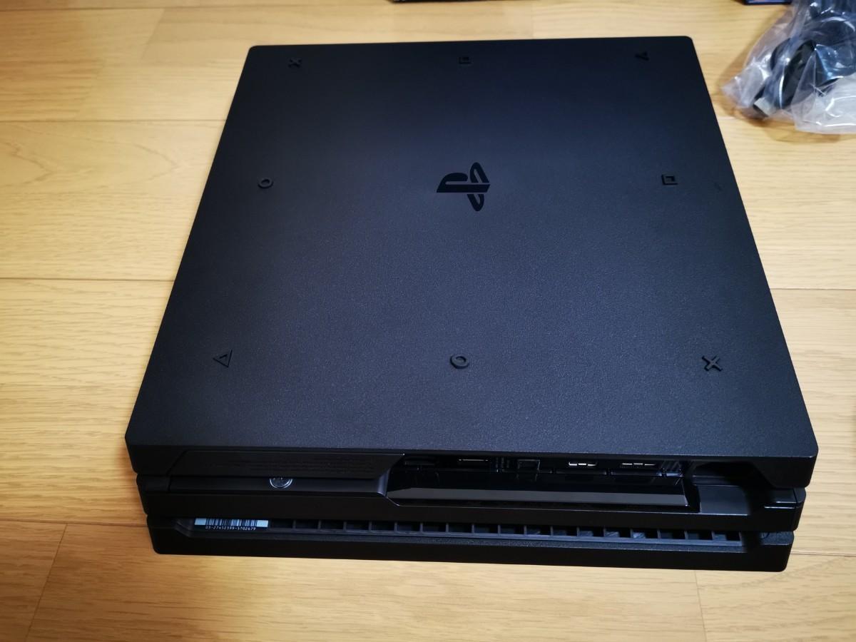 美品 オマケ付 PS4 Pro プレイステーション4pro  ジェットブラック PlayStation4pro