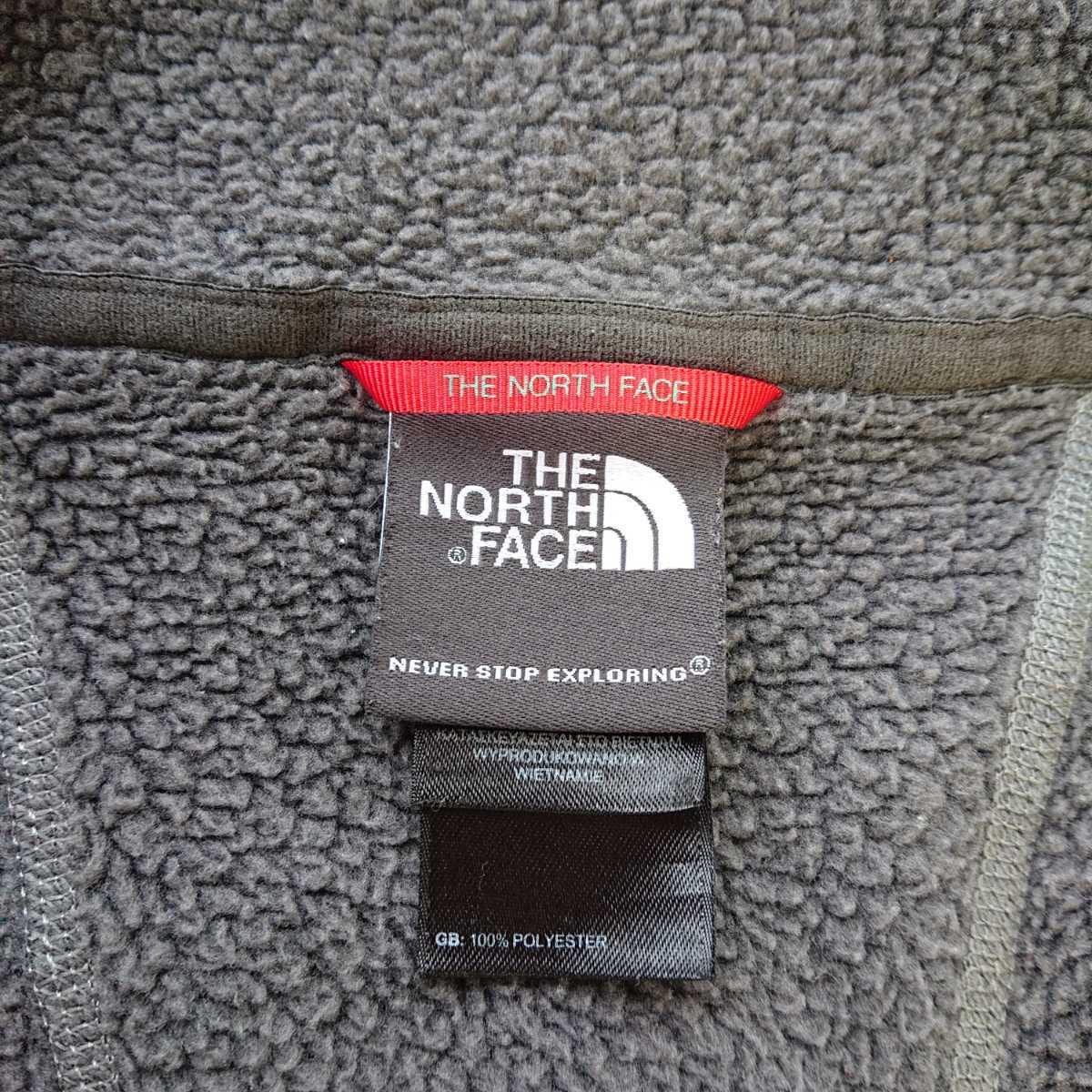 THE NORTH FACE USA ノースフェイス The North Face フリースベスト メンズ Mサイズ 軽量 アウトドア キャンプ チャコールグレー アメリカ