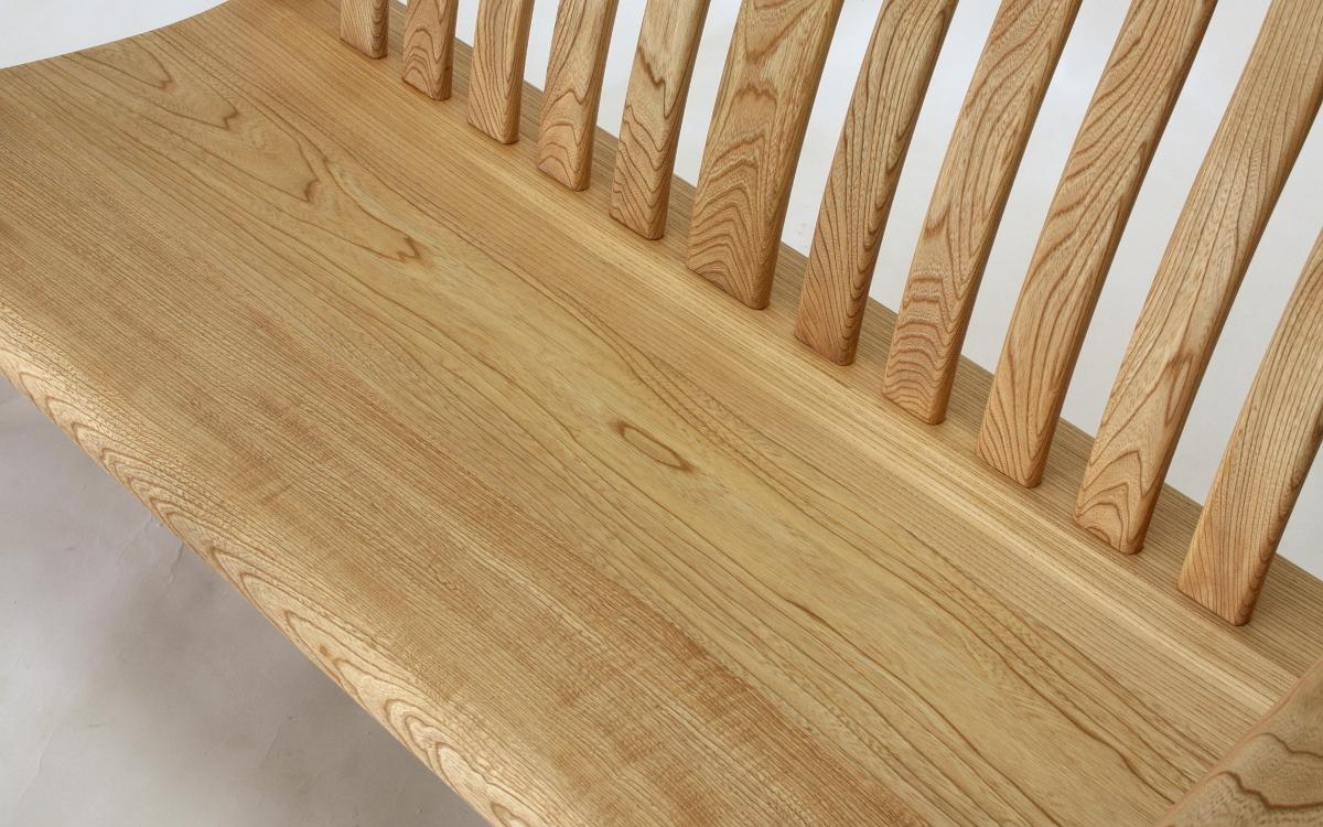 国産広葉樹のリビングチェア(2人掛)【岩泉純木家具公式ストア】_画像3