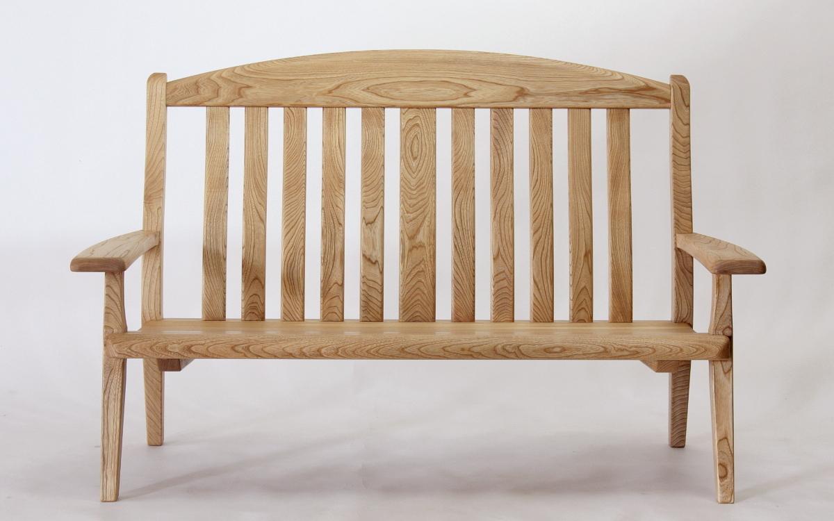 国産広葉樹のリビングチェア(2人掛)【岩泉純木家具公式ストア】_画像7