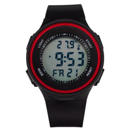 G3156 ファッション屋外スポーツ腕時計メンズ多機能腕時計アラーム時計クロノ3Bar防水デジタル腕時計_画像1