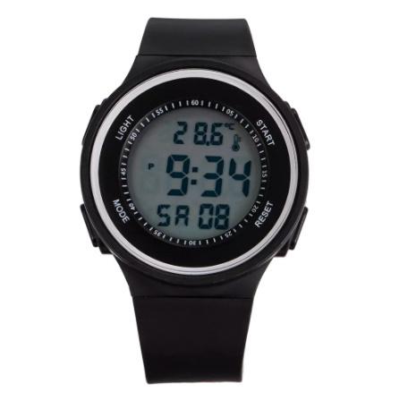 G3156 ファッション屋外スポーツ腕時計メンズ多機能腕時計アラーム時計クロノ3Bar防水デジタル腕時計_画像2