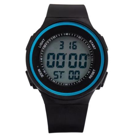 G3156 ファッション屋外スポーツ腕時計メンズ多機能腕時計アラーム時計クロノ3Bar防水デジタル腕時計_画像3