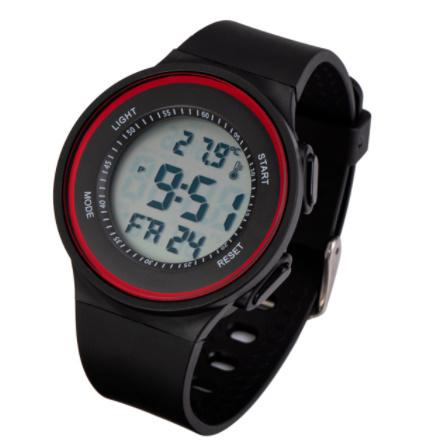 G3156 ファッション屋外スポーツ腕時計メンズ多機能腕時計アラーム時計クロノ3Bar防水デジタル腕時計_画像4