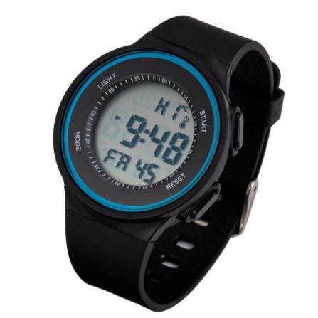 G3156 ファッション屋外スポーツ腕時計メンズ多機能腕時計アラーム時計クロノ3Bar防水デジタル腕時計_画像6