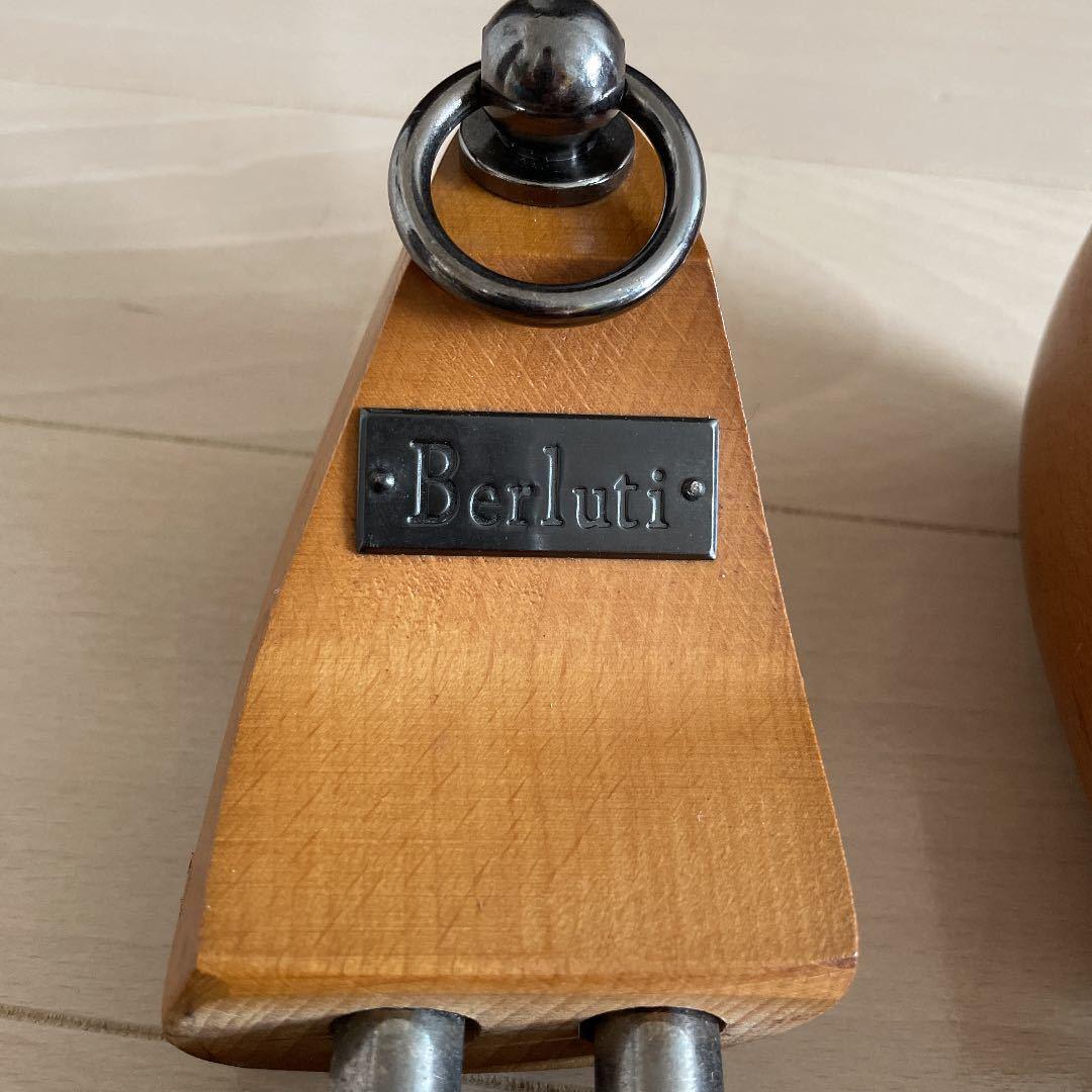 廃盤 ベルルッティ クラブコレクション型シューキーパー シューツリー サイズ6 アンディ アレッサンドロ ジョンロブ エドワードグリーン_画像2