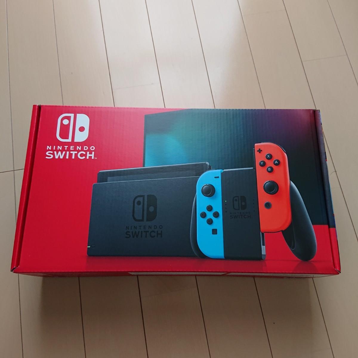 ネオンブルー Nintendo Switch ネオンレッド ニンテンドースイッチ本体 ニンテンドースイッチ 任天堂スイッチ